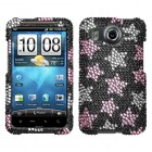HTC Inspire 4G Falling Stars Diamante Protector Cover