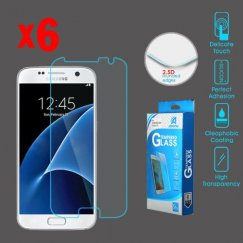 Samsung Galaxy S7 Tempered Glass Screen Protector - 6-pack