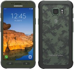 Samsung Galaxy S7 Active 32GB SM-G891A Android Smartphone - Unlocked GSM - Green Camo