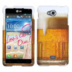LG Spirit 4G Beer - Food Fight Collection Case
