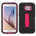Samsung Galaxy S6 Hot Pink/Black Symbiosis Stand Case