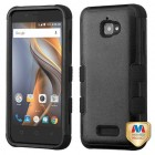 Coolpad Catalyst Natural Black/Black Hybrid Phone Protector Cover