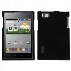 LG Intuition Solid Black Case