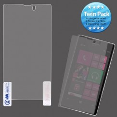 Nokia Lumia 521 Screen Protector Twin Pack