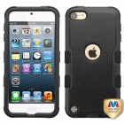 Apple iPod Touch (6th Generation) Natural Black/Black Hybrid Case