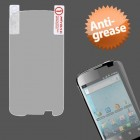 Huawei Ascend II / Prism / Summit Anti-grease LCD Screen Protector/Clear