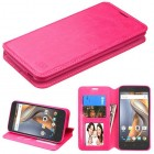 Coolpad Catalyst Hot Pink Wallet(with Tray)