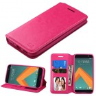 HTC 10 Hot Pink Wallet with Tray
