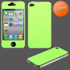 Apple iPhone 4s Tender Green Coating Full Body Screen Protector