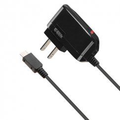 Black Premium Travel Charger with IC chips