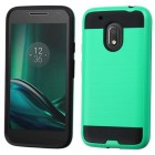 Motorola Moto G4 Play Green/Black Brushed Hybrid Case