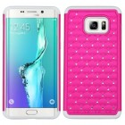 Samsung Galaxy S6 Edge Plus Hot Pink/Solid White FullStar Case