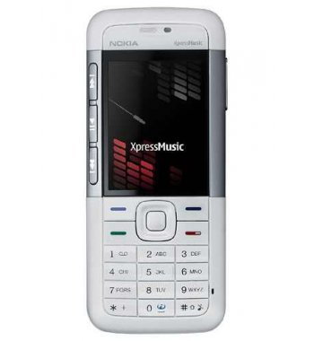 Nokia 5310 Bluetooth Camera Music White Phone Unlocked