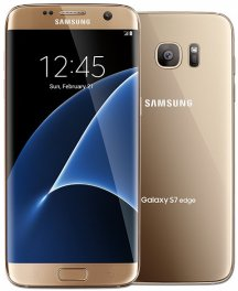 Samsung Galaxy S7 Edge SM-G935T 32GB Android Smartphone - Unlocked GSM - Gold Platinum