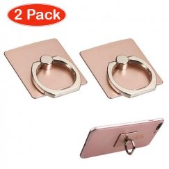 Rose Gold Adhesive Ring Stand (2pcs)
