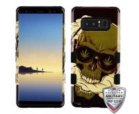 WeedSkull/Black Hybrid Phone Protector Cover [Military-Grade Certified]