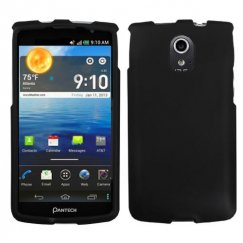 Pantech Discover Black Case - Rubberized
