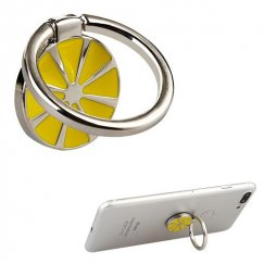 Stand-Silver Lemon Metal Ring Stand