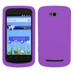 Coolpad Quattro 4G Solid Skin Cover - Electric Purple