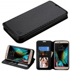 LG K10 Black Braided Wallet with Tray