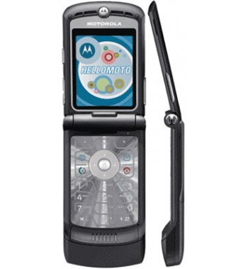 Motorola RAZR V3 Flip Camera Bluetooth BLACK Phone AT&T
