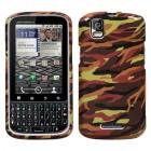 Motorola Droid Pro Camo/Yellow Phone Protector Cover
