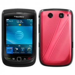 Blackberry Torch 9810 Red Cosmo Case