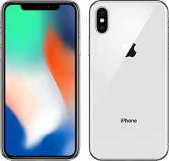 Apple iPhone X 64GB Smartphone - Unlocked Wireless - Silver