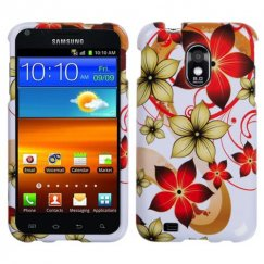 Samsung Epic 4G Touch (Galaxy S2) Hibiscus Flower Romance Case