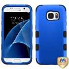 Samsung Galaxy S7 Titanium Dark Blue/Black Hybrid Case