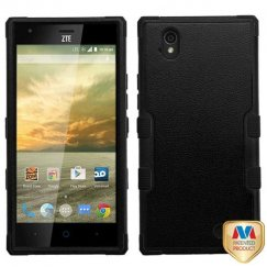 ZTE Warp Elite Natural Black/Black Hybrid Case