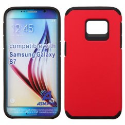 Samsung Galaxy S7 Red/Black Astronoot Case