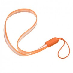 (5PCS)Orange TPU Lanyard (7.5inch)