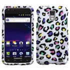Samsung Galaxy S2 Skyrocket Colorful Leopard Case