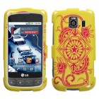LG Optimus S Exotic Yellow Case