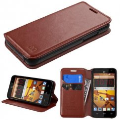 ZTE Speed Brown Wallet with Tray