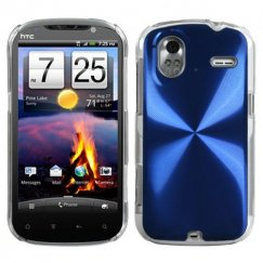 HTC Amaze 4G Blue Cosmo Back Case
