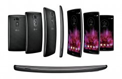 LG G Flex 2 32GB LS996 Android Smartphone - Ting - Platinum Silver