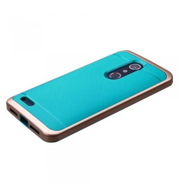 ZTE Grand X Max 2 Rose Gold Frame/Tropical Teal Astronoot Case