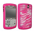 BlackBerry 8300 Gel Case, Pink Zebra