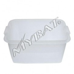 Plastic Storage Box-1# (L=16.75*W=11.50*D=9.00 inch) (Clear)