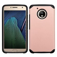 Motorola Moto G Rose Gold/Black Astronoot Case