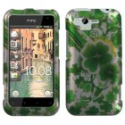 HTC Rhyme Lucky Clovers 2D Silver Case