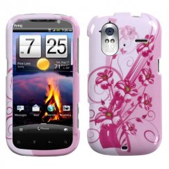 HTC Amaze 4G Blooming Lily Case