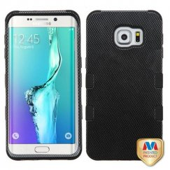 Samsung Galaxy S6 Edge Plus Carbon Fiber/Black Hybrid Case