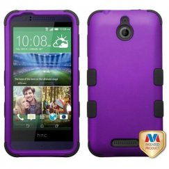 HTC Desire 510 Rubberized Grape/Black Hybrid Case