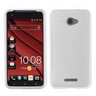 HTC Droid DNA Solid Skin Cover - Translucent White