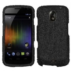Samsung Galaxy Nexus Black Diamante Case