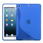 AppleiPad Mini 3rd Gen Dark Blue (S Shape) Candy Skin Cover