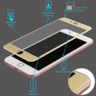 Apple iPhone 6/6s 3D Curved Edge Titanium Alloy Tempered Glass Screen Protector/Gold
